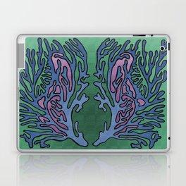 Coral Pattern - Alpine Colour Scheme Laptop & iPad Skin