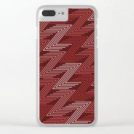 Op Art 91 Clear iPhone Case