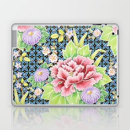 Kimono Bouquet Brocade Laptop & iPad Skin