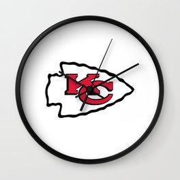 Kc Football Wall Clock
