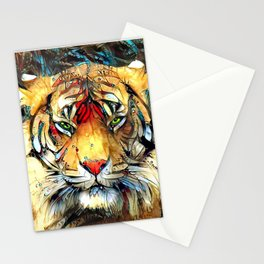 Fantazi (Tiger is Not Amused II) Stationery Cards