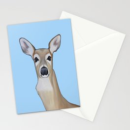 Painting of a Doe  Stationery Cards