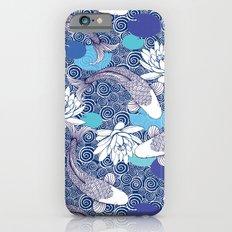 Blue Koi Ripples iPhone 6s Slim Case