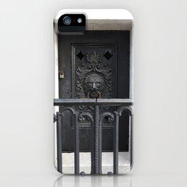 New Orleans: Raised Cemetery, Grave Knocker iPhone Case