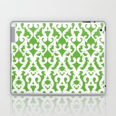 Modern Baroque Green Laptop & iPad Skin