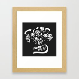 Party Hard! Framed Art Print