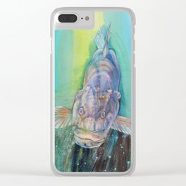 A Groupers Look of Love Clear iPhone Case