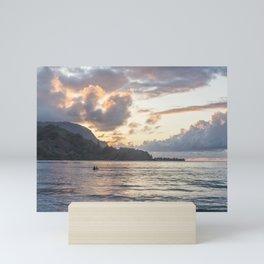 Sunset at Hanalei Bay, No. 3 Mini Art Print