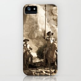 Don Quixote Of La Mancha iPhone Case