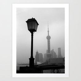 Pearl Tower Shanghai Art Print
