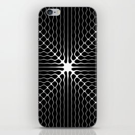 Energy Vibration 6. Frequency - Chladni - Cymatics iPhone Skin