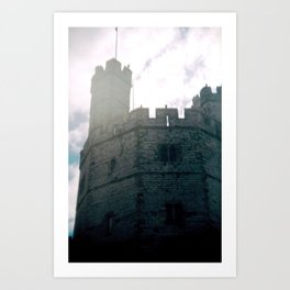 Caernarfon Castle Art Print