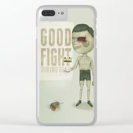 GO THE DISTANCE Clear iPhone Case