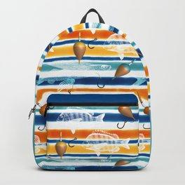 No Fishing Today Backpack