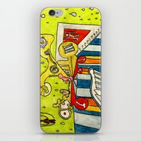 college iPhone & iPod Skins featuring Trinity College by Joe Pansa