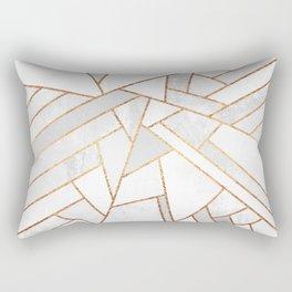 White Night Rectangular Pillow