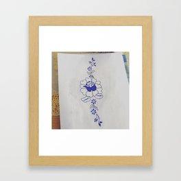 Bloemenkunst Framed Art Print
