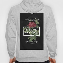 Harry Styles From the dining table graphic artwork Hoody