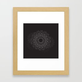 Spiral #abstract #dark Framed Art Print