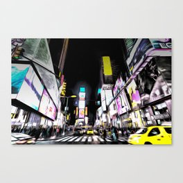 Times Square New York Art Canvas Print