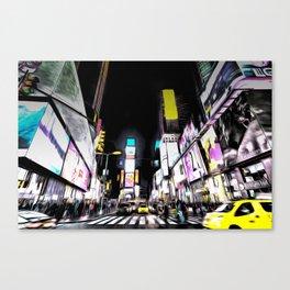 Times Square New York Art Canvas Print