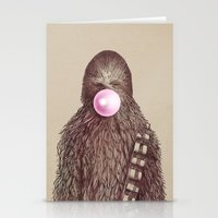 micklyn Stationery Cards featuring Big Chew by Eric Fan