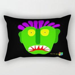Green Man I Rectangular Pillow