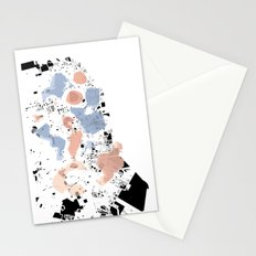 San Francisco Crime Map Stationery Cards