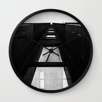 channel Wall Clocks featuring Channel by Paul Vayanos