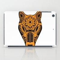 jaguar iPad Cases featuring jaguar by danta