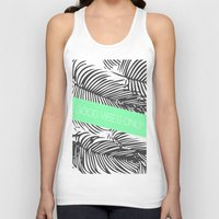 good vibes only Tank Tops featuring Good Vibes Only by Jenna Davis Designs