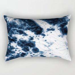 Boho Paper Tie-Dye Rectangular Pillow