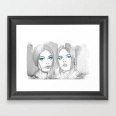 Pretty Bad Girls Framed Art Print