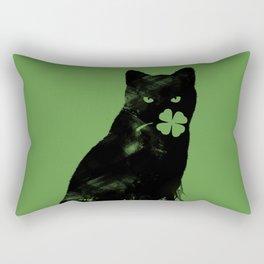 St Paddy's Cat Rectangular Pillow