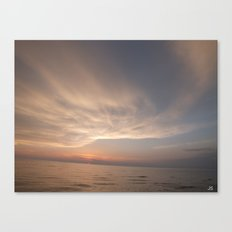Over The Water Canvas Print