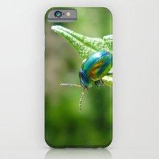 Green beetle iPhone 6s Slim Case