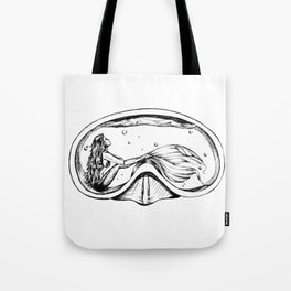 Water in Your Eyes Tote Bag