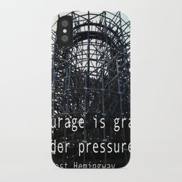 Courage iPhone Case