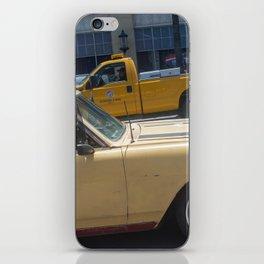 Dog in a car iPhone Skin