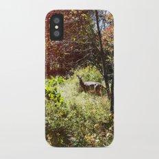 autumn deer. iPhone X Slim Case