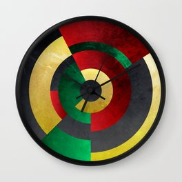 The Eye of Rasta Wall Clock