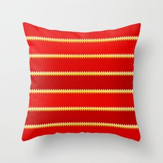 Tagged LOVE no01 Throw Pillow