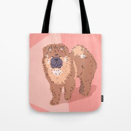 City Dogs: Chow Chow Tote Bag