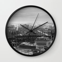 Downtown Detroit Wall Clock