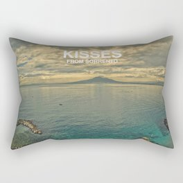 Kisses from Sorrento Rectangular Pillow