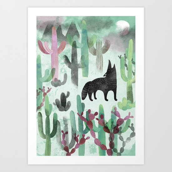 The Desert Art Print