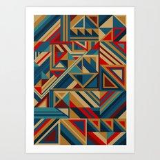 Colorgraphics I Art Print