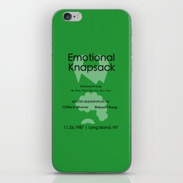 Emotional Knapsack - Friends iPhone Skin