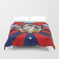 coven Duvet Covers featuring Psychic Vision by LUCID CREATOR