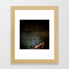 coma Framed Art Print